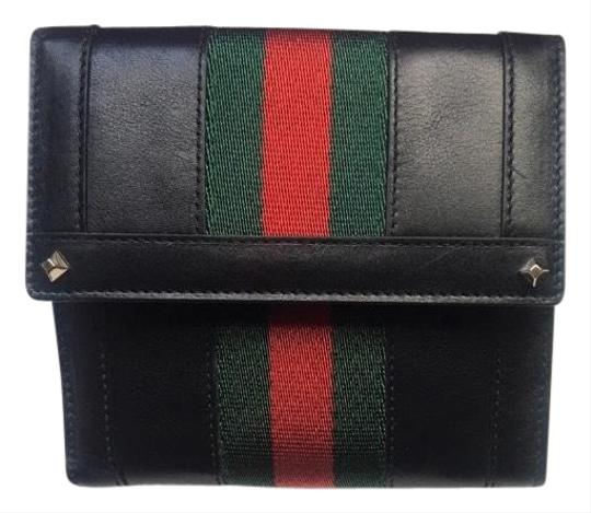 Preload https://img-static.tradesy.com/item/25943208/gucci-black-with-red-and-green-web-stripe-leather-three-fold-wallet-0-1-540-540.jpg