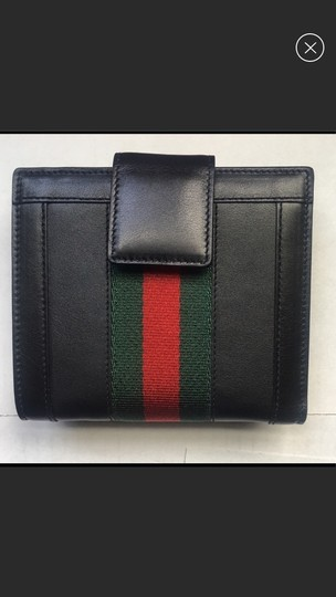 Gucci Gucci leather three fold wallet Image 1