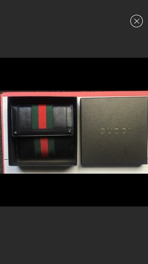 Gucci Gucci leather three fold wallet Image 5