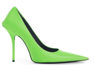 Balenciaga Green Pumps