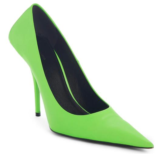 Balenciaga Green Pumps Image 1