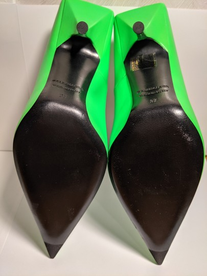 Balenciaga Green Pumps Image 2