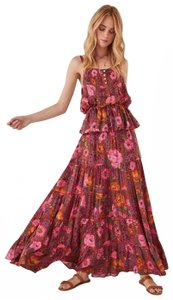 pink, blue, floral Maxi Dress by Spell & the Gypsy Collective