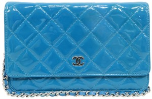 Chanel Wallet On Vernis Woc Shoulder Bag