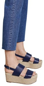 Michael Kors Collection navy Wedges