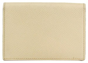 Hermès Hermes Epsom Leather Card Case Beige