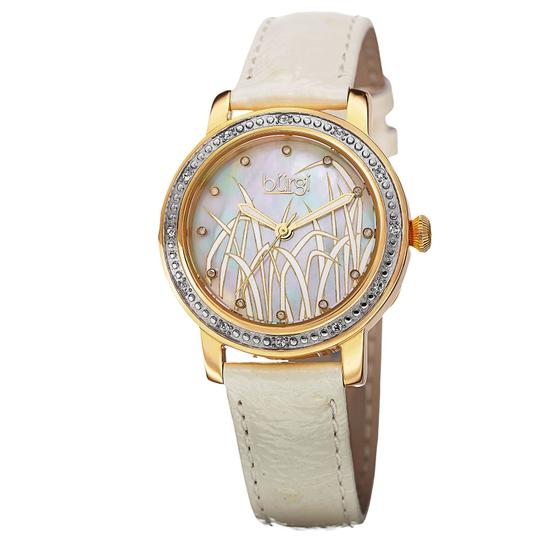 Preload https://img-static.tradesy.com/item/25944683/burgi-patterned-mother-of-pearl-diamond-stainless-steel-white-leather-quartz-ladies-watch-0-0-540-540.jpg