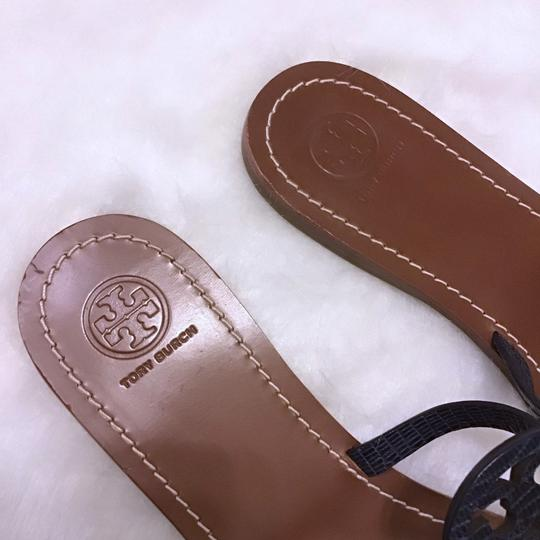 Tory Burch Navy Blue Sandals Image 2