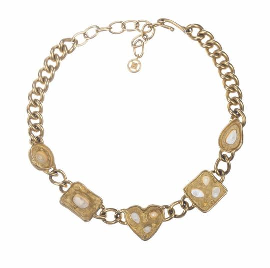Givenchy Givenchy Faux Pearl Chain Necklace Image 1