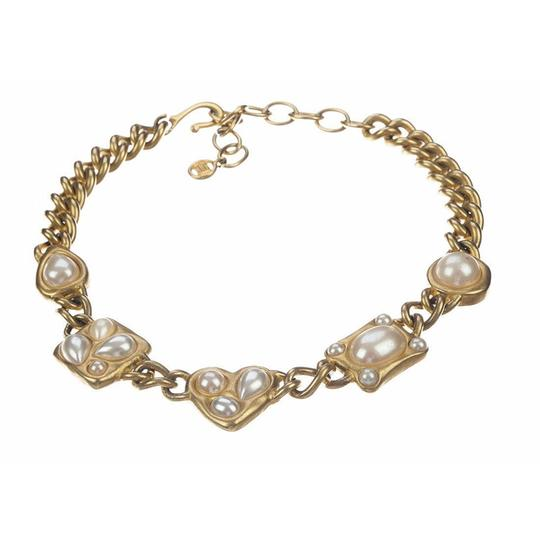 Givenchy Givenchy Faux Pearl Chain Necklace Image 2