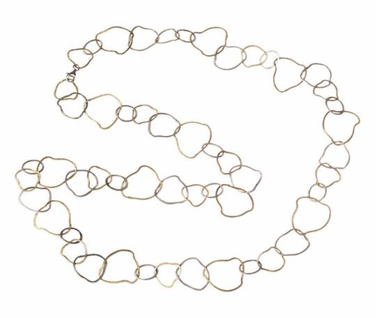 Preload https://img-static.tradesy.com/item/25944900/silver-etched-flat-link-flapper-necklace-0-0-540-540.jpg