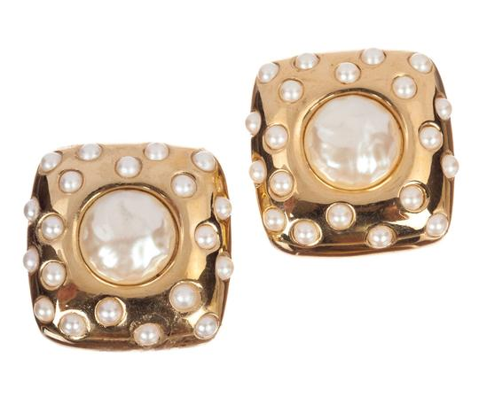 Preload https://img-static.tradesy.com/item/25945053/givenchy-gold-large-square-faux-pearl-cabochon-earrings-0-0-540-540.jpg