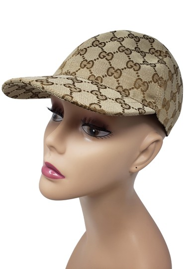 Preload https://img-static.tradesy.com/item/25945292/gucci-beige-multicolor-supreme-gg-monogram-baseball-cap-s-hat-0-3-540-540.jpg