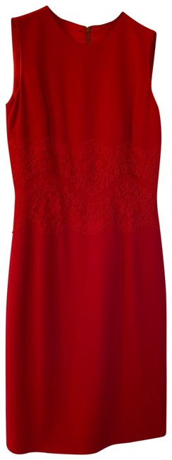 Preload https://img-static.tradesy.com/item/25945421/dolce-and-gabbana-red-lace-insert-mid-length-cocktail-dress-size-4-s-0-1-650-650.jpg