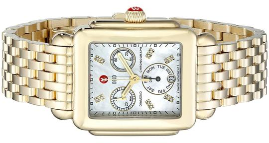 Michele Deco Stainless Mother Of Pearl Diamond Dial MWW06P000016 Image 5