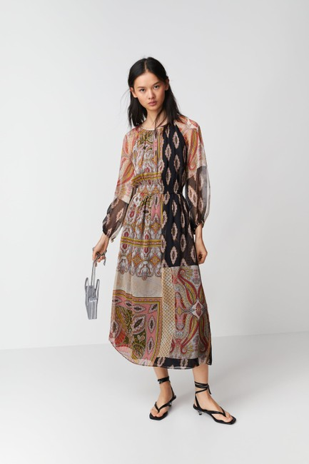 Multicolor Maxi Dress by Zara Image 1