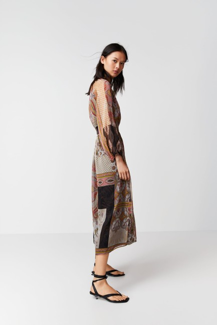 Multicolor Maxi Dress by Zara Image 2