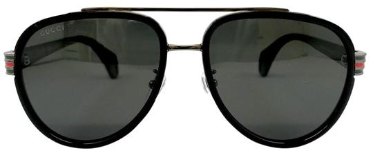Preload https://img-static.tradesy.com/item/25945691/gucci-black-gg0447s-001-pilot-sunglasses-0-4-540-540.jpg