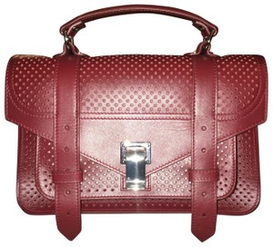 Proenza Schouler Satchel in midnight plum