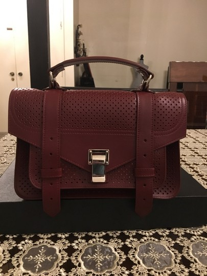 Proenza Schouler Satchel in midnight plum Image 1