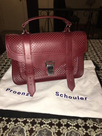 Proenza Schouler Satchel in midnight plum Image 5