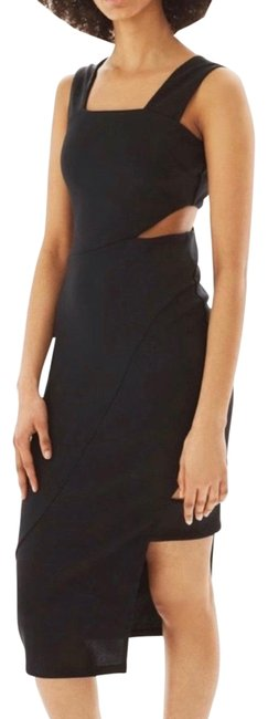 Preload https://img-static.tradesy.com/item/25945729/topshop-black-wide-strap-cut-out-midi-mid-length-cocktail-dress-size-4-s-0-1-650-650.jpg