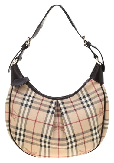 Preload https://img-static.tradesy.com/item/25945740/burberry-beigebrown-haymarket-check-beige-pvc-hobo-bag-0-1-540-540.jpg