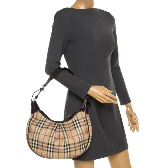 Burberry Canvas Hobo Bag Image 2