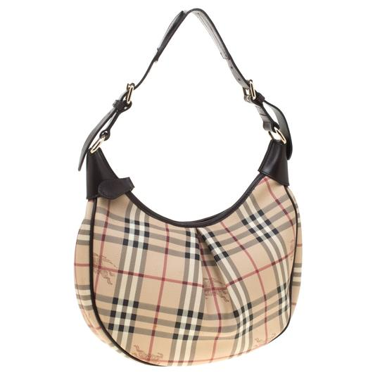 Burberry Canvas Hobo Bag Image 3