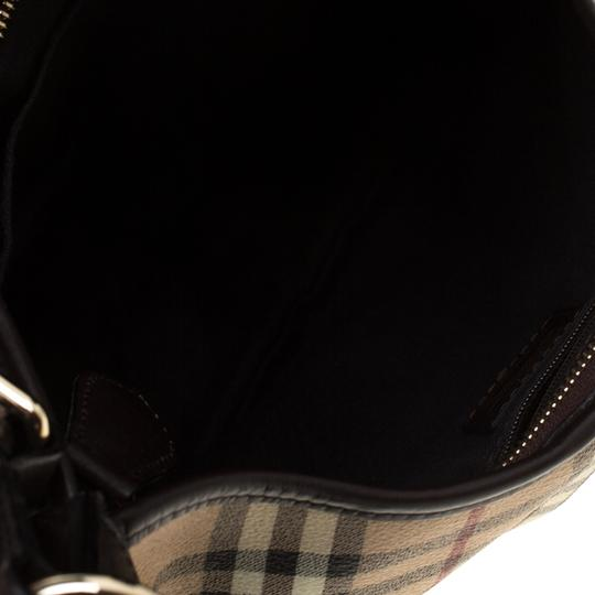 Burberry Canvas Hobo Bag Image 5