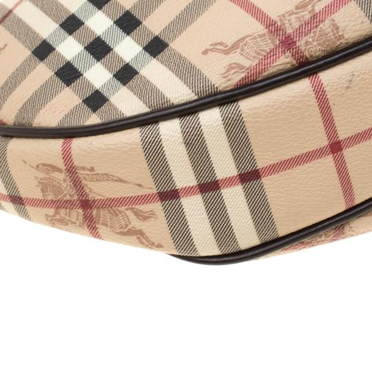 Burberry Canvas Hobo Bag Image 7