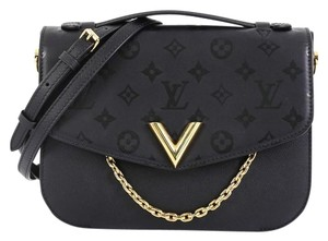 Louis Vuitton Monogram black Messenger Bag