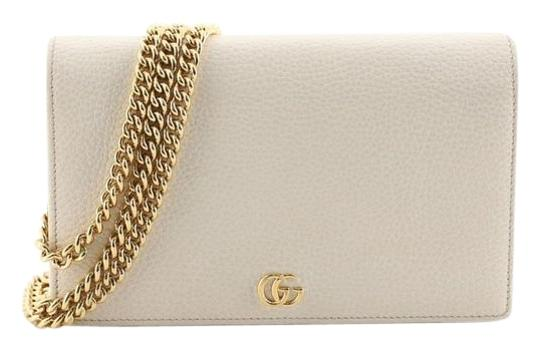 Preload https://img-static.tradesy.com/item/25945804/gucci-chain-wallet-marmont-petite-gg-mini-white-leather-shoulder-bag-0-1-540-540.jpg
