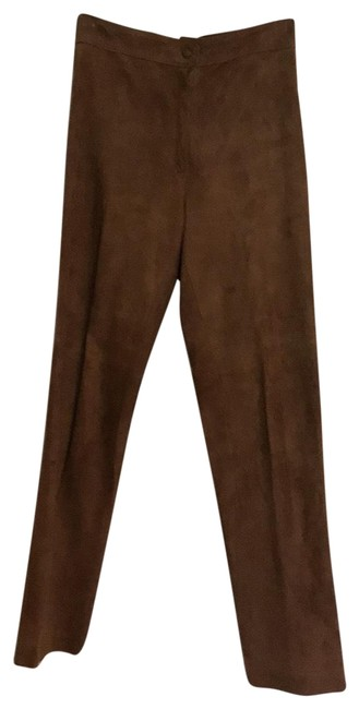 Preload https://img-static.tradesy.com/item/25945807/brown-soft-suede-pants-size-6-s-28-0-1-650-650.jpg