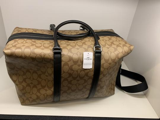 Coach Multi ( Tan ) Travel Bag Image 4
