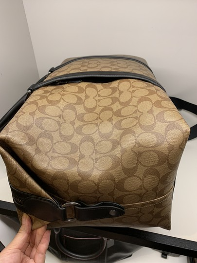 Coach Multi ( Tan ) Travel Bag Image 6