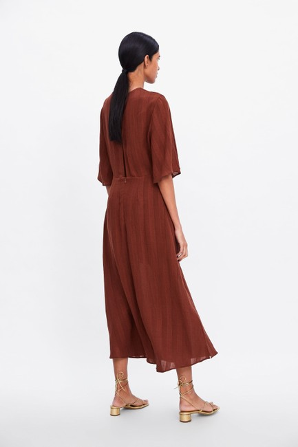 Rust Maxi Dress by Zara Image 5