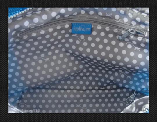 Kipling Tote in Blue Image 3