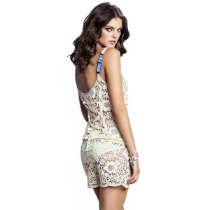Maaji Lace Bower Fragant Cover Up Romper