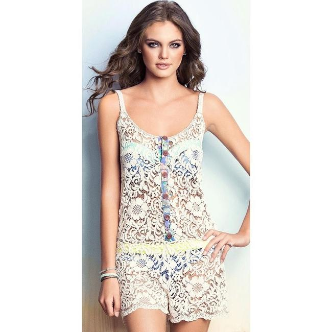 Maaji Lace Bower Fragant Cover Up Romper Image 1