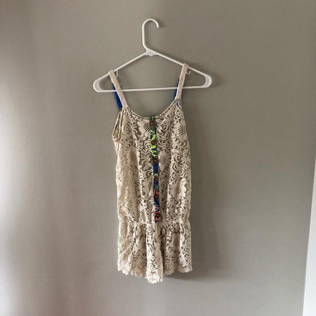 Maaji Lace Bower Fragant Cover Up Romper Image 2