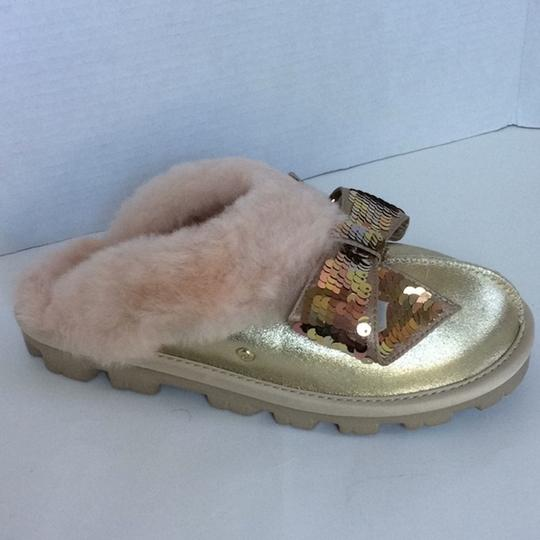 UGG Australia New With Tags New In Box Gold Mules Image 1