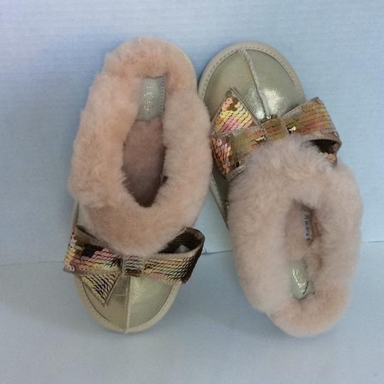 UGG Australia New With Tags New In Box Gold Mules Image 3