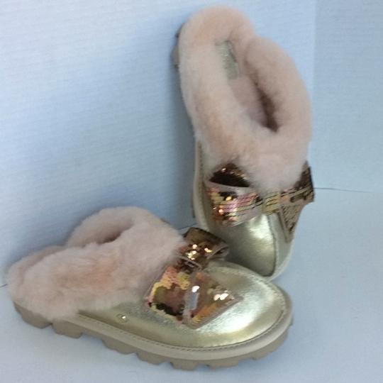 UGG Australia New With Tags New In Box Gold Mules Image 5