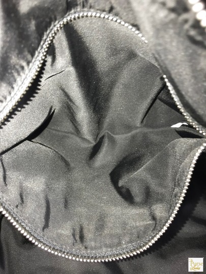 Prada Nylon Tote in Black Image 10