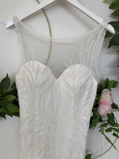 Rosa Clará Natural Tulle Wizan Feminine Wedding Dress Size 10 (M) Image 1