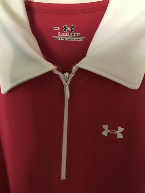 Under Armour Under Armour Zip Golf Tank Image 2
