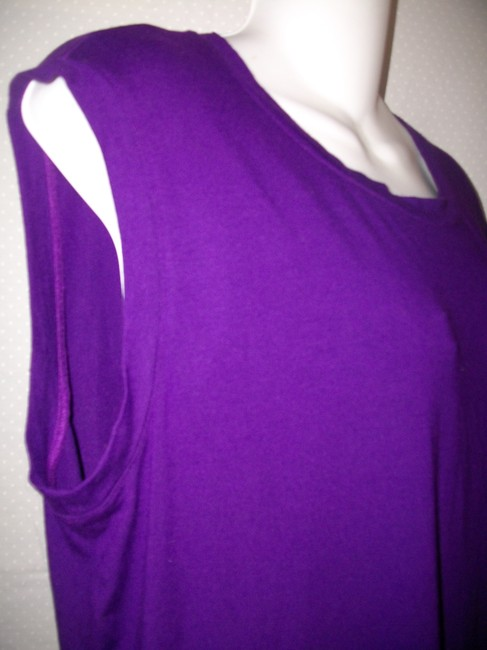 Purple Maxi Dress by Eileen Fisher Image 1