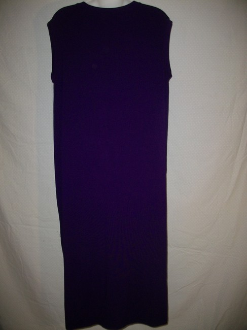 Purple Maxi Dress by Eileen Fisher Image 2