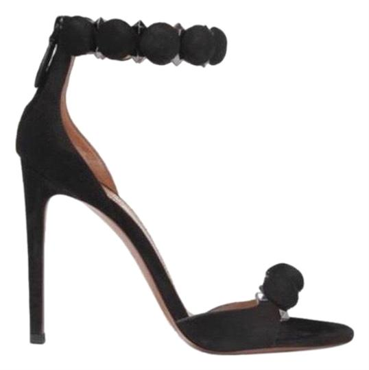 Preload https://img-static.tradesy.com/item/25946358/alaia-black-bombe-110-studded-suede-leather-heels-sandals-size-eu-365-approx-us-65-regular-m-b-0-1-540-540.jpg